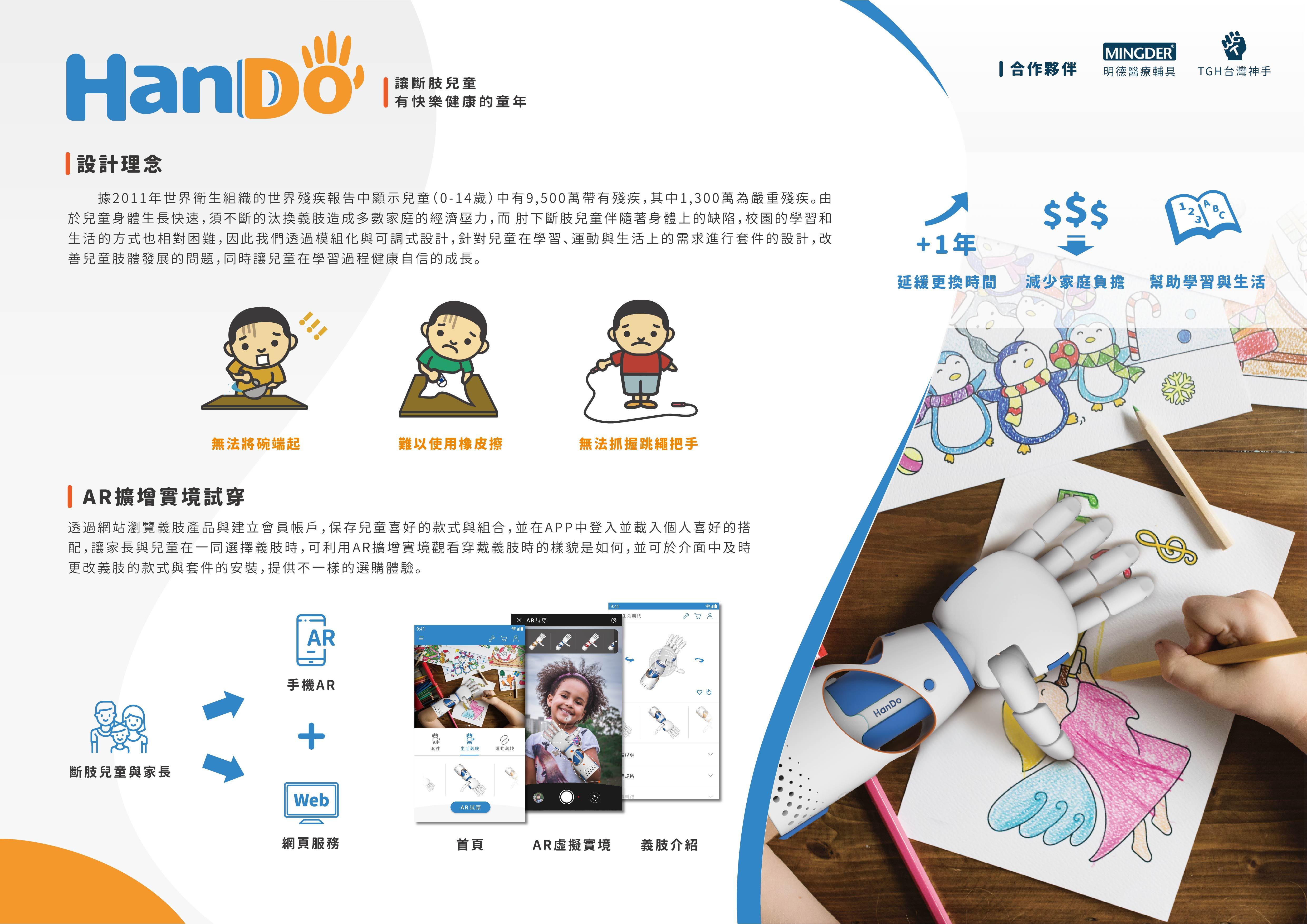 兒童義肢模組化設計